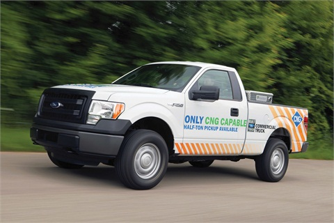 2014-MY Ford F-150 CNG