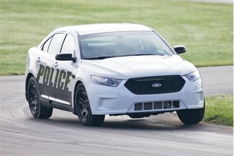 Ford Police Interceptor. Photo: Michigan State Police