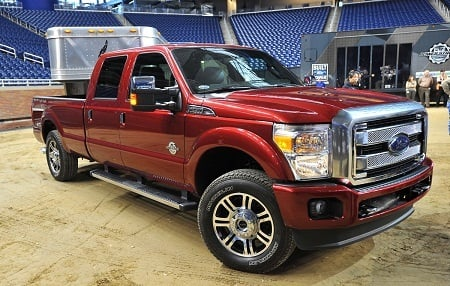 (Photos courtesy of Ford). Ford F-Series Super Duty truck.