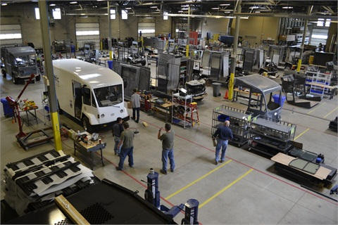 Boulder EV currently builds all its vehicles at a 60,000 sq. foot plant in Fafayette, Colo.