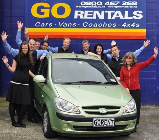 The GO Rentals team.