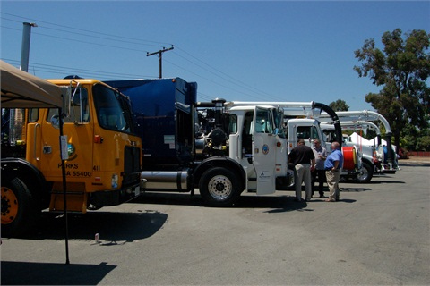 MEMA holds an annual equipment show where vendors are invited to bring their equipment and products to showcase. Pictured is an equipment show in 2010.