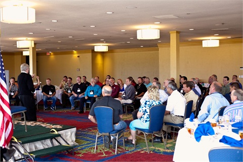 Fleet professionals gathered at the RMFMA's annual conference in 2010.