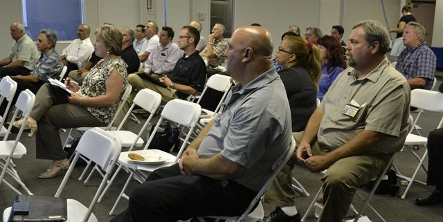 Fleet managers at the MEMA meeting July 19.