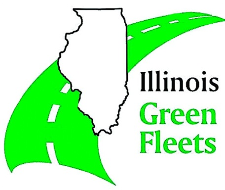 """The Illinois Green Fleets Program works to promote the achievements of fleets in the state that stand out from their peers in """"greening"""" their fleet operations."""