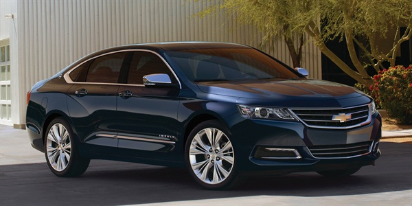 2014-MY Chevrolet Impala featuring Ecotec 2.4L engine with eAssist