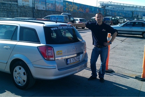 Ivomir Stanchev, internet marketing and sales, Top Rent A Car.