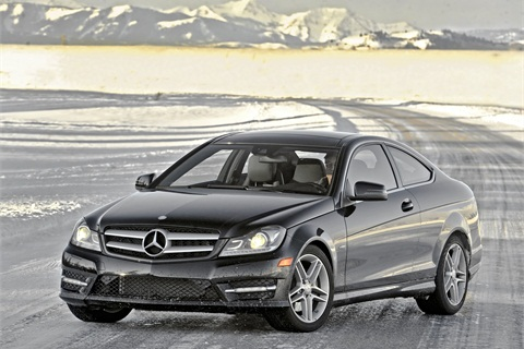Mercedes' C350 4MATIC.