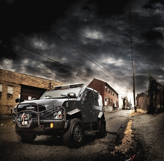 The Oshkosh SandCat Tactical Protector Vehicle is a high-mobility tactical vehicle engineered to meet the challenges faced by tactical officers responding to high-risk situations like terrorist threats, hostage situations, drug interdictions, and gang activities.