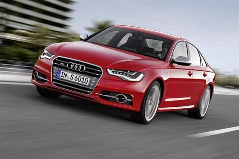 The 2012-MY Audi S6.