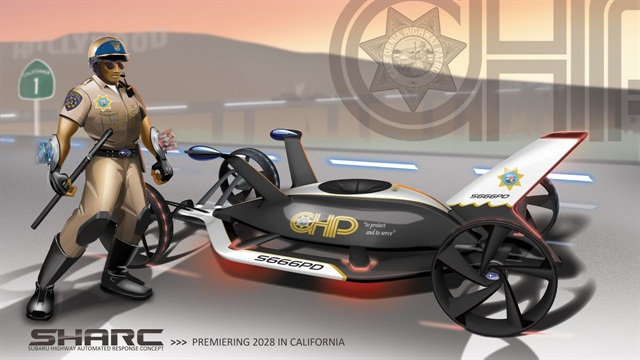 Subaru Highway Automated Response Concept (SHARC). Click the image for more photos.