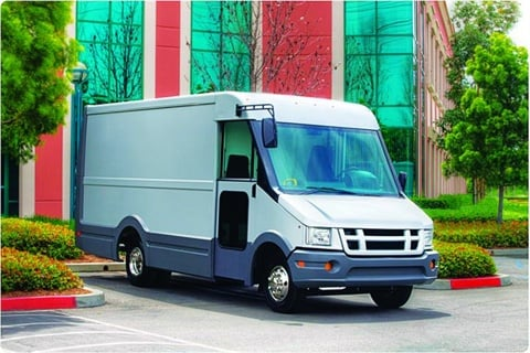 Federal Express (FedEx) recently purchased several Isuzu Reach vans similar to the one above that are constructed out of plastic components. This resulted in a 700-lb. reduction and 35-percent fuel savings. The Reach uses high-impact plastic for the lower cladding and one-piece plastic molded roof.