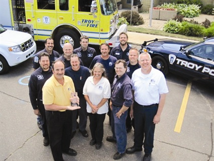 The City of Troy, Mich., earned the No. 1 spot in the 100 Best Fleets program in 2010. Several technicians have been employed 25 years.