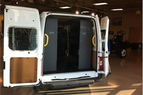 Ford has bettered the Transit Connect's fuel economy since its 2010 introduction by reducing the final drive ratio, improving aerodynamics and including low-rolling-resistance tires.
