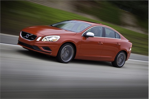The 2012-MY Volvo S60.
