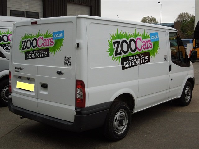 ZOOCars' popular rentals are its vans, including the Ford Transit and the VW Transporter.