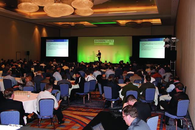 The Green Fleet Conference features cutting-edge keynote speakers.