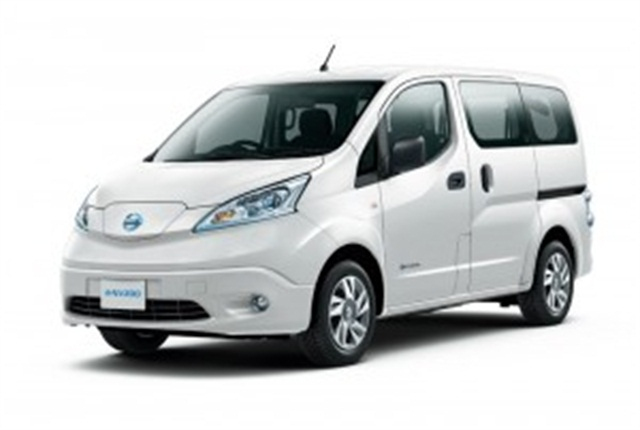 Nissan is in the final development phase of its second mass production zero emission vehicle, the e-NV200 compact van.Photo courtesy Nissan