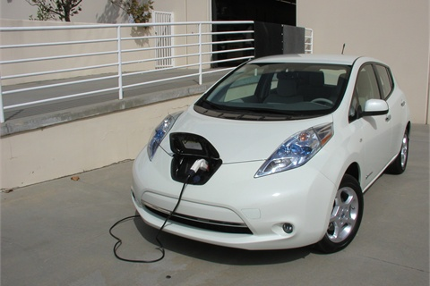 The Leaf Charges At Our Company S Loading Dock A Full Charge Costs About 2 75 Using