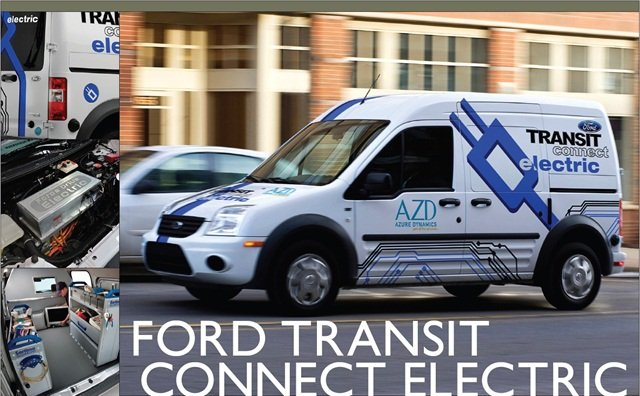 Alt Fuel Vehicles Are Beginning To Blend Into The Automotive Landscape And All Electric Zero Emission Transit Connect Is No Exception