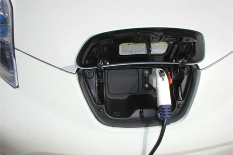 Nice The Leafu0027s Onboard Charger Plugs Into A Regular 110/120V Household Outlet.  This Level