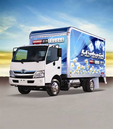 Available with diesel or diesel-electric hybrid powertrains, the Hino COE can be upfitted to fit specific business needs and features an available crew cab option.