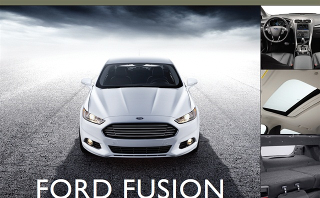 2013-MY Ford Fusion
