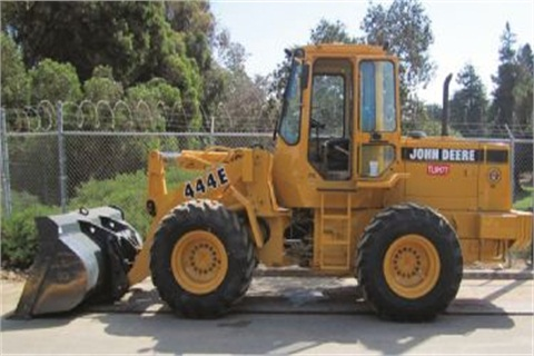 AFTER. Through refurbishment of a John Deere wheel loader, the City of Ventura, Calif., was able to extend equipment life by 10 years.