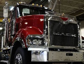 Mack Trucks will be the focus of an episode of Ultimate Factories on the National Geographic Channel, Saturday, Jan. 14. (Photo courtesy of Mack Trucks Inc.)