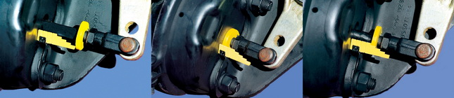 Brake stroke indicators are your best hedge against drivers who won't do mark-and-measure brake inspections.