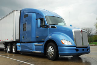 Kenworth says the company invested $400 million and more than four years bringing this truck to market.