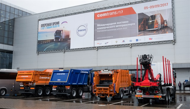 Russia's Comtrans exhibition is held every other year.