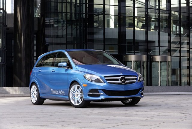 Photo of 2015 B-Class Electric Drive courtesy of MBUSA.