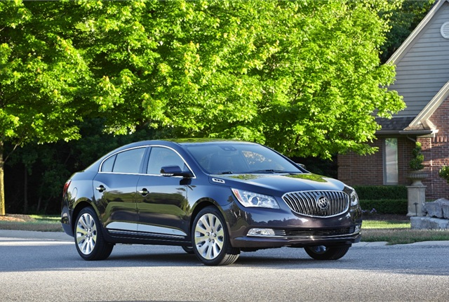 Photo of 2014 Buick LaCrosse courtesy of General Motors.