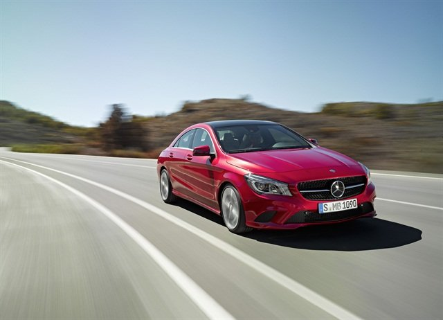 The 2014 Mercedes-Benz CLA250. Photo courtesy Mercedes-Benz.