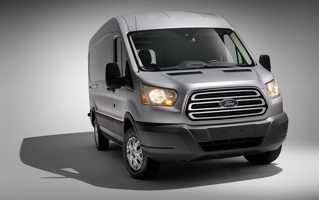 The 2014-MY Ford Transit. Photo courtesy Ford Motor Co.