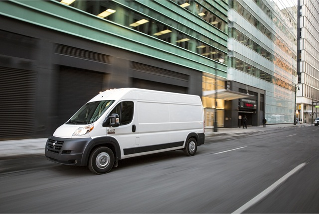 The Ram ProMaster will be available during the third quarter of 2013. Photo courtesy Chrysler Group.