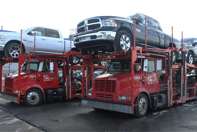 The 2014-MY Ram 1500 EcoDiesel began shipping to dealers in late February.