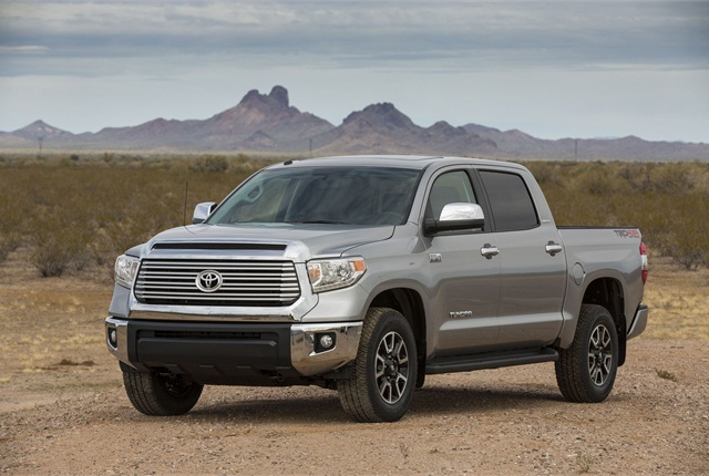 The 2017 Tundra Will Be Redesigned Inside And Out Representing First Major Change