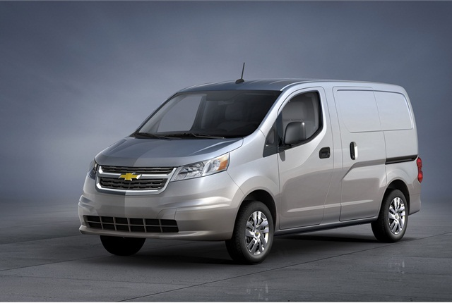 The 2015 Chevrolet City Express cargo van is slated to go on sale in fall 2014. Photo courtesy GM.