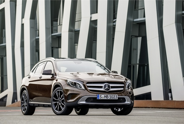 Photo of 2015 GLA Class courtesy of MBUSA.