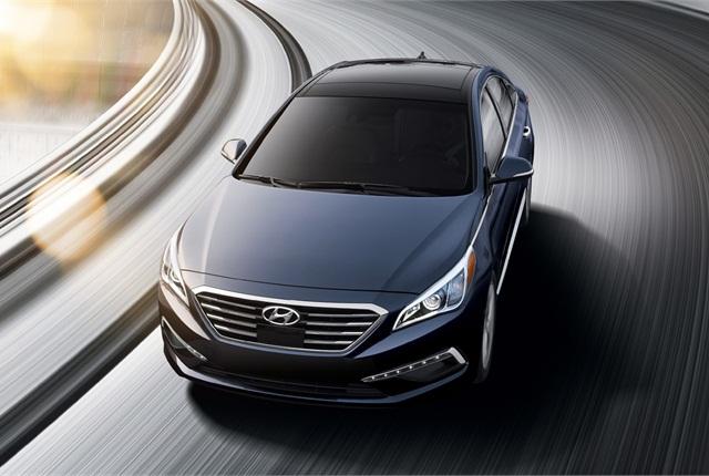 Photo of 2015 Hyundai Sonata courtesy of Hyundai.