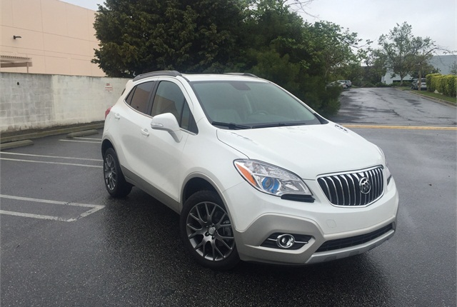 Photo By Mike Antich The 2016 Buick Encore