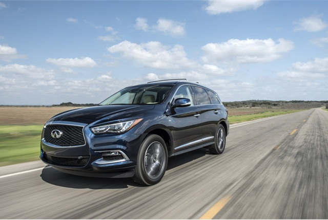 Photo of Infiniti QX60 courtesy of Infiniti.