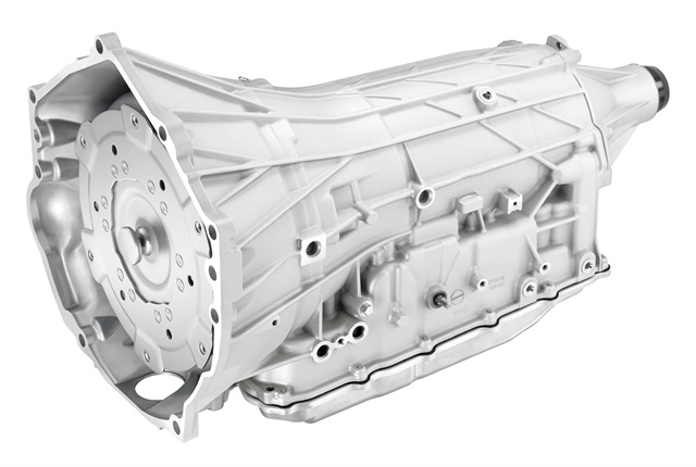 Photo of 2018 HydraMatic 10L80 MF6 10-speed courtesy of GM.