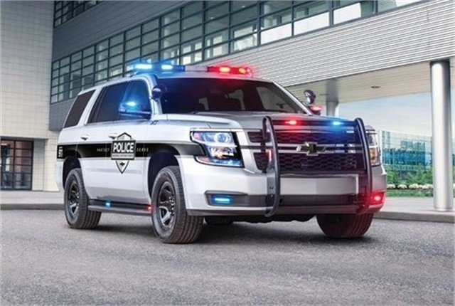 Chevrolet is already offering semi-autonomous safety systems as an option on the 2018 Tahoe PPV. For future vehicles the features will most likely come standard. Photo courtesy of General Motors
