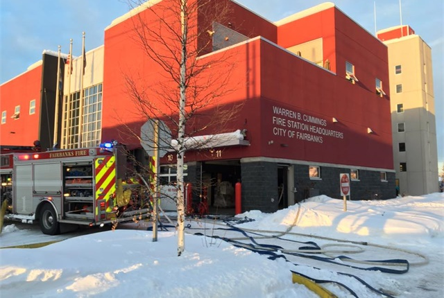 Photo of the Fairbanks Fire Department Headquarters courtesy of Deputy Fire Marshal Kyle Green