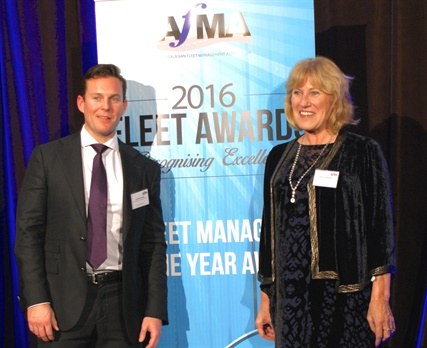 CSIRO's National Fleet Manager Catherine Parker was named Fleet Manager of the Year by the Australasian Fleet Management Association (AFMA). Photo: AfMA
