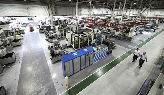 Meritor's Cwmbran, Wales, brake manufacturing plant.