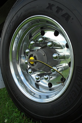 Automatic inflation systems have a proven ROI. They prevent tire damage due to under inflation and can reduce on-road failures. Photo by Jim Park